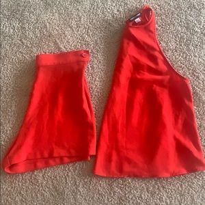 matching american apparel set